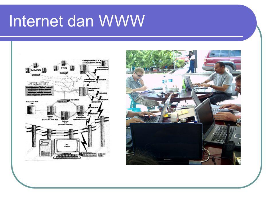 Internet dan WWW