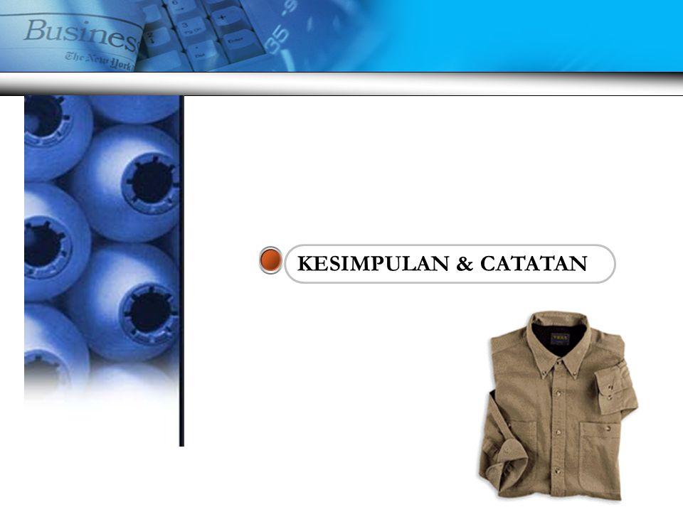 www.themegallery.com Company Logo Biaya Produksi Garmen  Biaya bahan baku per garmen (dihitung berdasarkan hasil marker)  Biaya accessories (label, print, dsb)  Biaya Jahit per garmen  Biaya Packing per garmen (hangtag, polybag, cartoon)