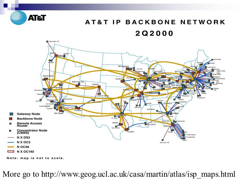 Packets dan Routing Packet  Potongan kecil dari gumpalan besar data yg digunakan untuk komunikasi  Berisi data, penerima, info yang asli dan berurutan Routing  Menemukan alur dari satu host ke yang lain  Routers mrpk komputer khusus untuk routing packets