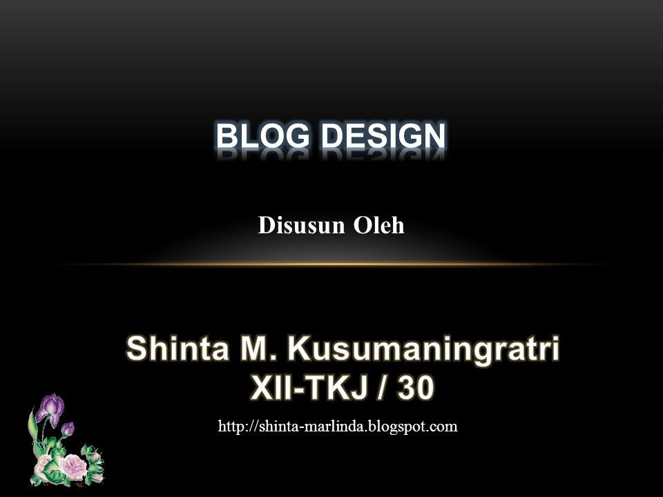 Disusun Oleh http://shinta-marlinda.blogspot.com