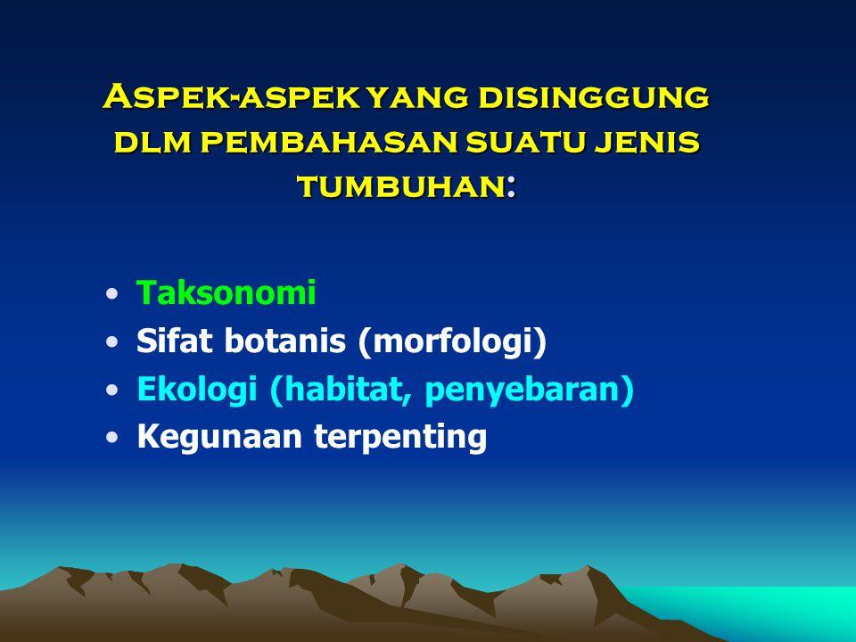 Tiga level keanekaragaman hayati (Biodiversitas, Biodiversity): 1.Ekosistem 2.Jenis (Species) 3.Genetik (Plasma Nutfah)