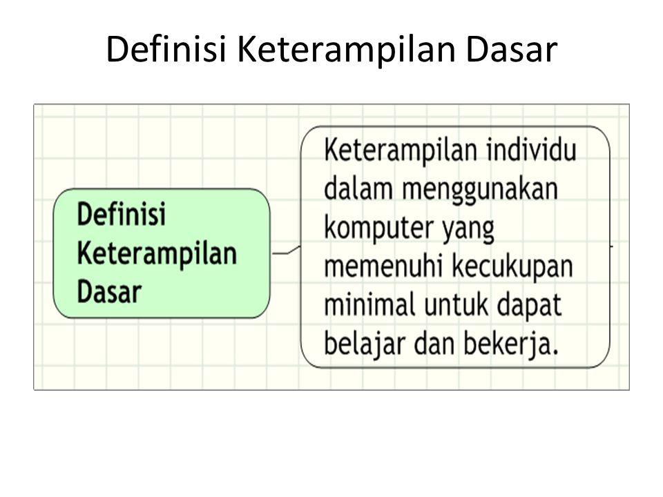 Definisi Keterampilan Dasar