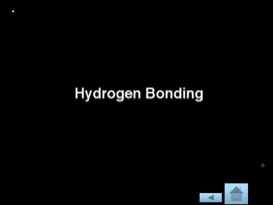 H 2 O, HF, dan NH 3 titik didihnya lebih tinggi dari senyawa unsur-unsur segolongannya.