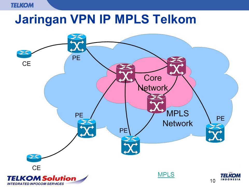 10 Jaringan VPN IP MPLS Telkom MPLS
