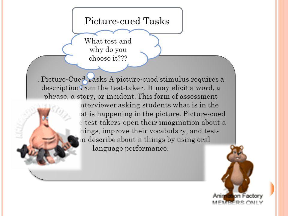 Picture-cued Tasks.