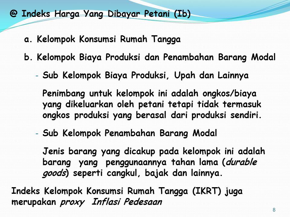 G.Pemilihan Pasar Pemilihan Pasar di kecamatan terpilih berdasarkan kriteria : a.
