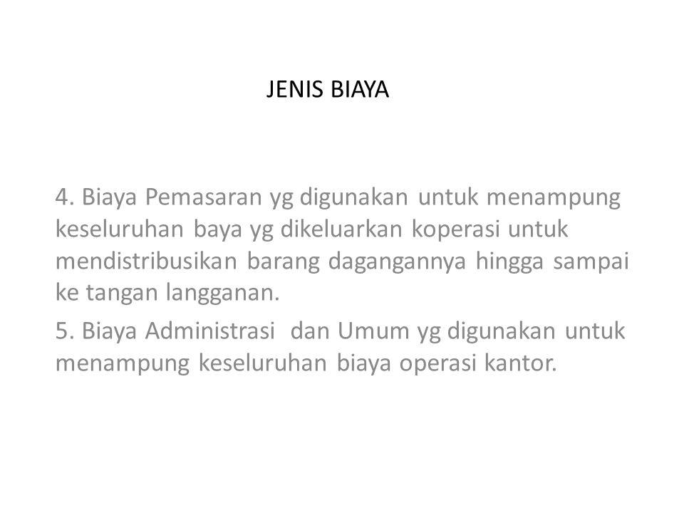 JENIS BIAYA 4.