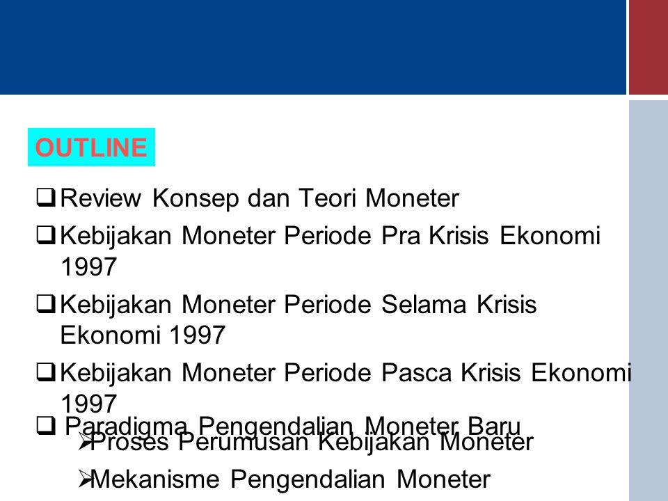 Mekanisme Pengendalian M0 Melalui OPT Operasi Pasar Terbuka dilakukan Bank Indonesia dengan tiga cara, yaitu : 1.Melalui lelang SBI 2.Melalui penggunaan FASBI di pasar uang rupiah, dan 3.Melalui sterilisasi/intervensi di pasar valuta asing 1.