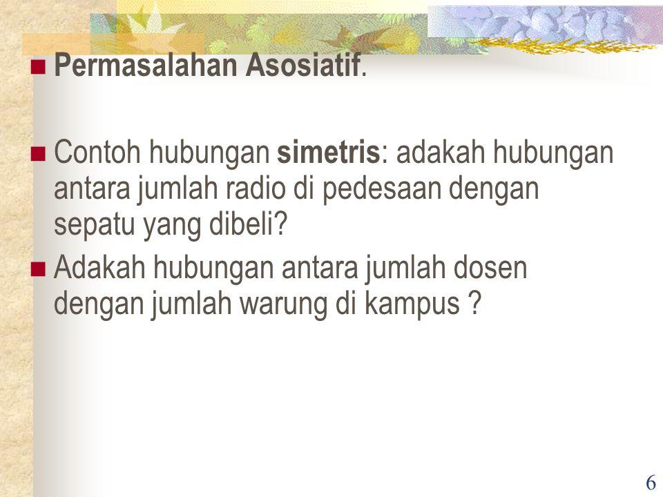 6 Permasalahan Asosiatif.