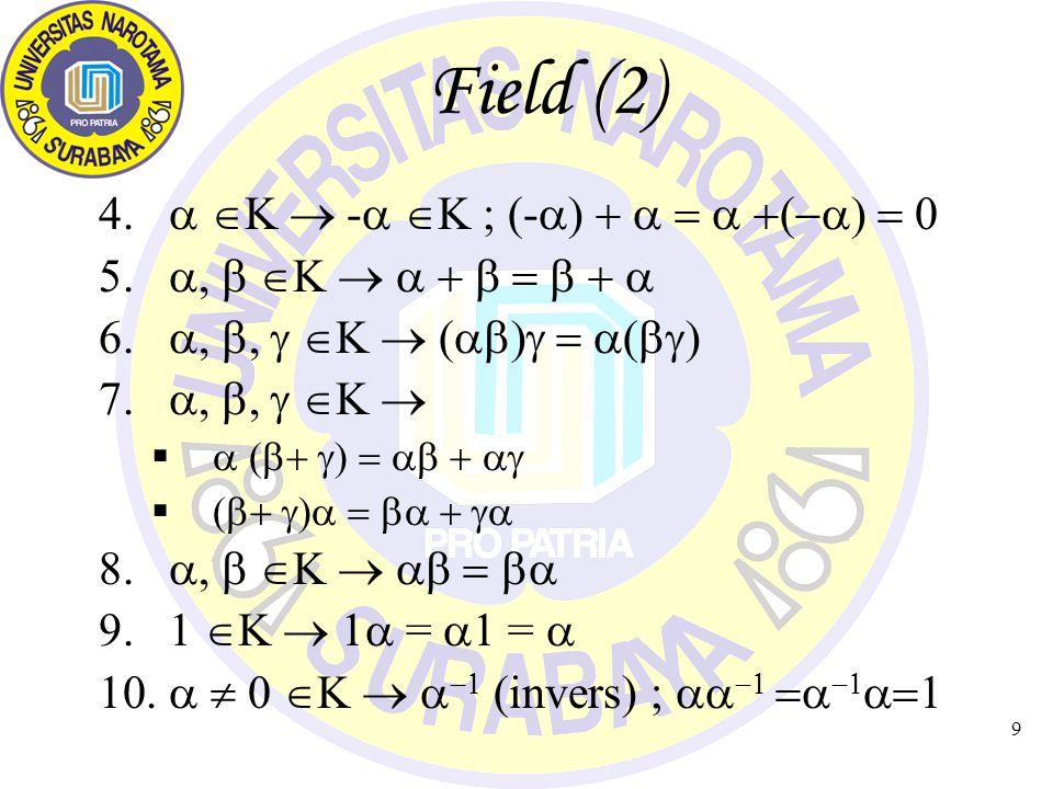 10 Dependent vs Independent Himpunan m buah vektor {u 1, u 2, … u m } disebut Linearly Dependent, bila terdapat skalar     m tidak semua bernilai nol sehingga 1 u 1 + 2 u 2 + ….