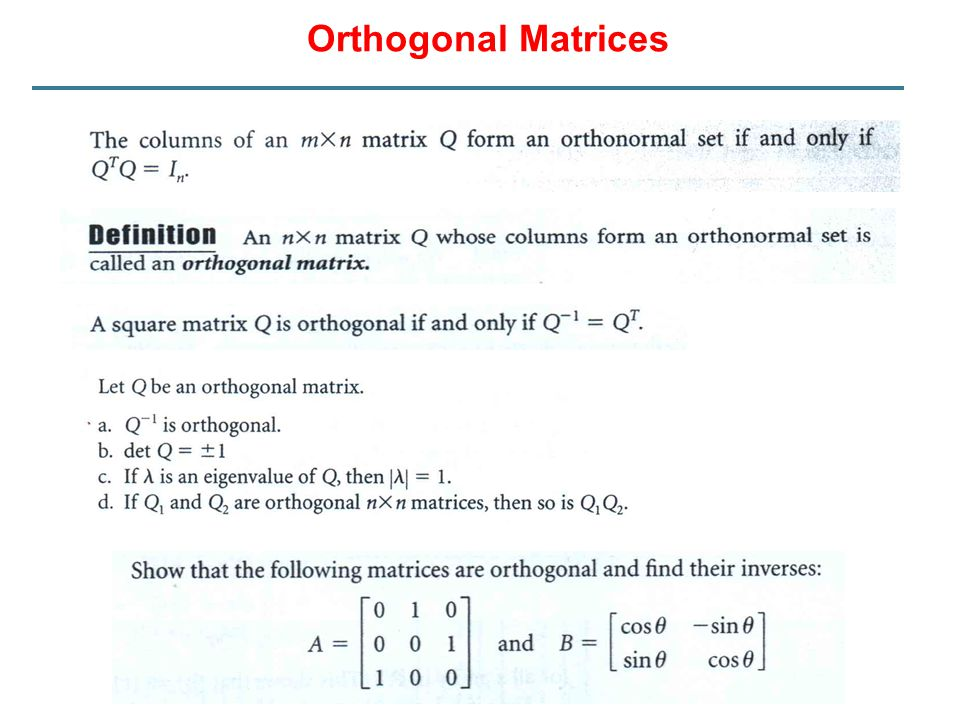 Orthogonal Projection Example: Tugas Mandiri 2