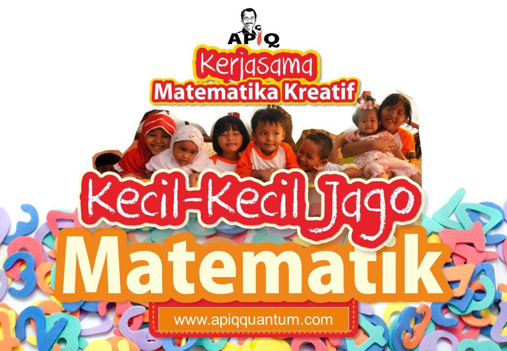 Juara Matematika Sekolah Komik APIQ – Sangat digemari anak-anak untuk mendukung proses belajar matematika Kartu Ular Angka – Salah satu alat permainan matematika kreatif 31 Dokumentasi Kegiatan