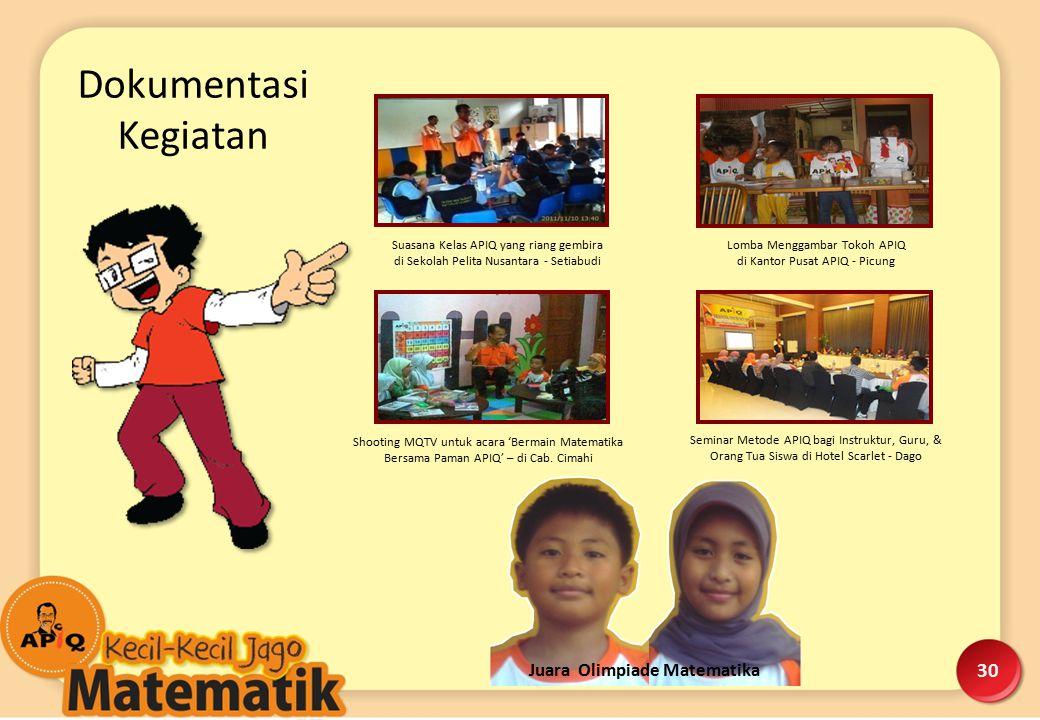 Suasana Kelas APIQ yang riang gembira di Sekolah Pelita Nusantara - Setiabudi Lomba Menggambar Tokoh APIQ di Kantor Pusat APIQ - Picung Shooting MQTV