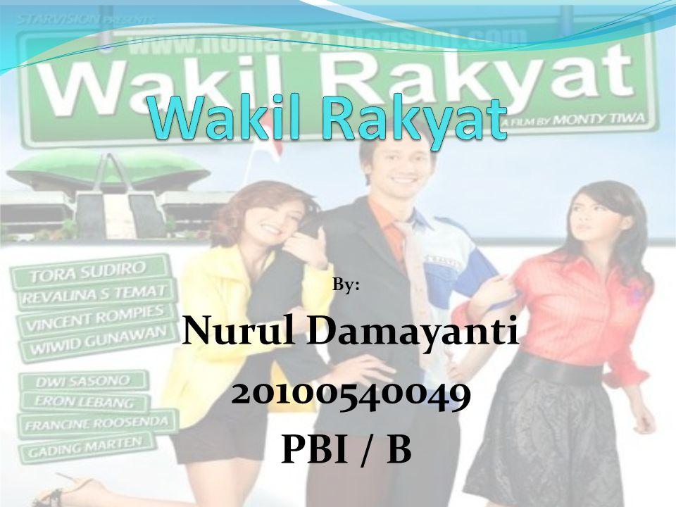 By: Nurul Damayanti 20100540049 PBI / B