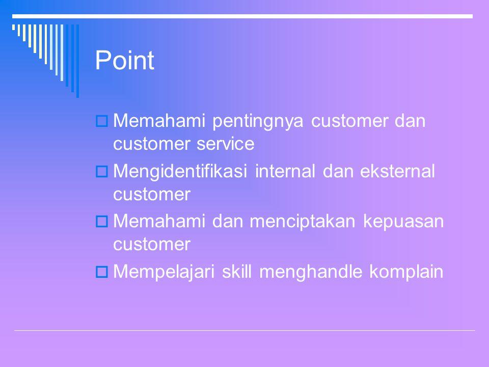 Internal & External Customer Internal Customers External Customers