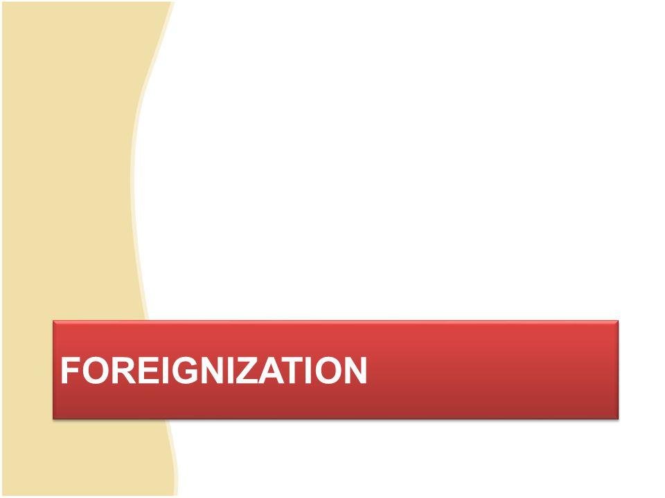 Definisi Foreignization penerjemahan yang betul , berterima , dan baik adalah yang sesuai dengan selera dan harapan sidang pembaca yang menginginkan kehadiran kebudayaan bahasa sumber.