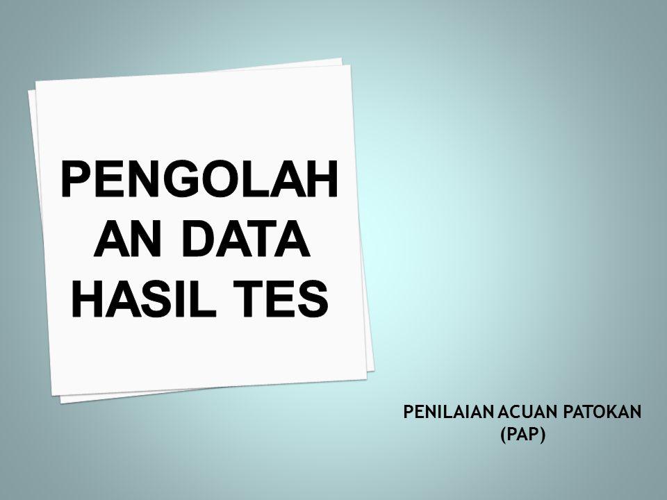 Tidak membutuhkan perhitungan statistiK yang rumit Dapat mengukur ketercapaian tujuan pembelajaran Nilainya bersifat tetap selama standar yang digunakan sama Hasil penilaian dapat digunakan untuk umpan balik Mudah menilai karena ada patokan