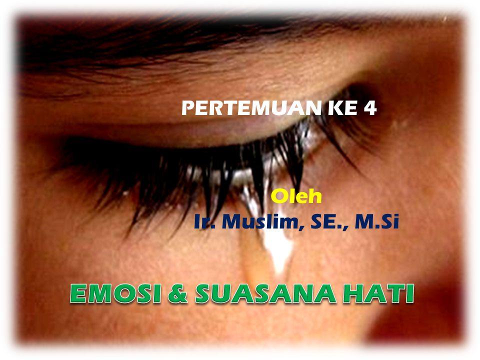 PERTEMUAN KE 4 Oleh Ir. Muslim, SE., M.Si