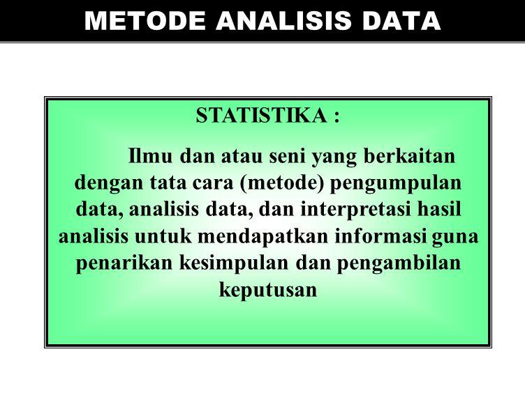 PEMODELAN STATISTIK DALAM PENGELOLAAN EKOSISTEM PEMODELAN STATISTIK DALAM PENGELOLAAN EKOSISTEM