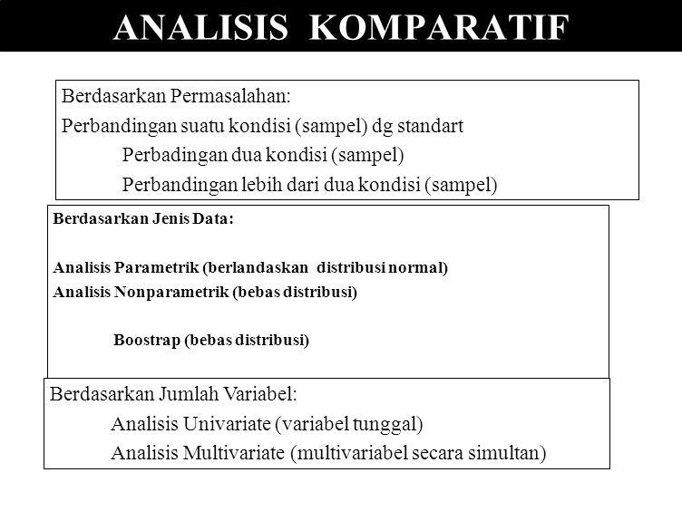 ANALISIS KOMPARATIF ANALISIS KOMPARATIF