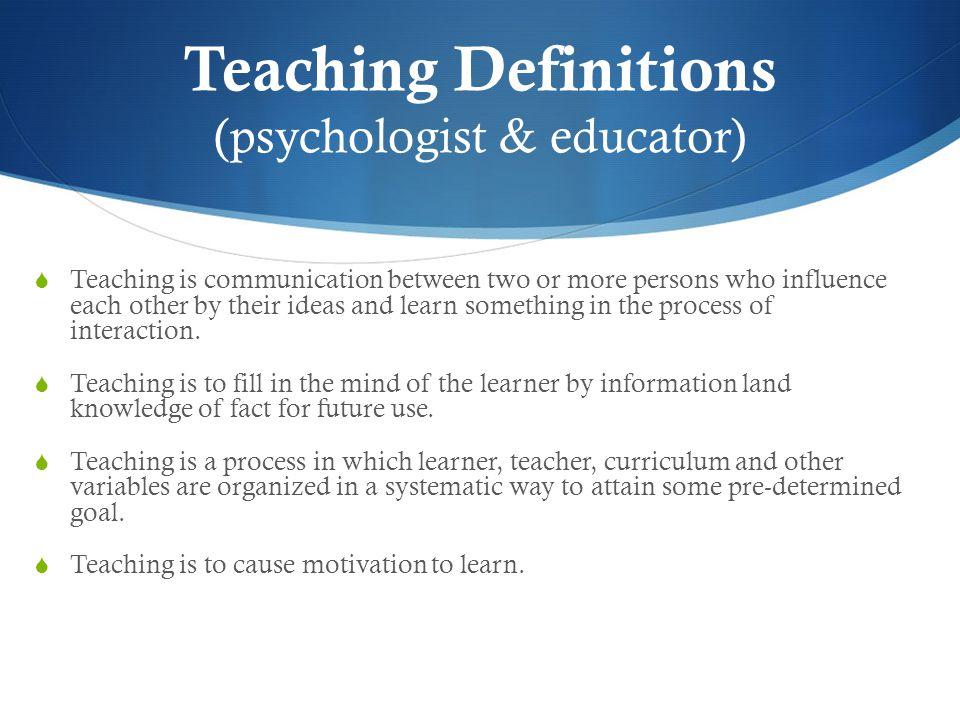 Apa itu Mengajar?