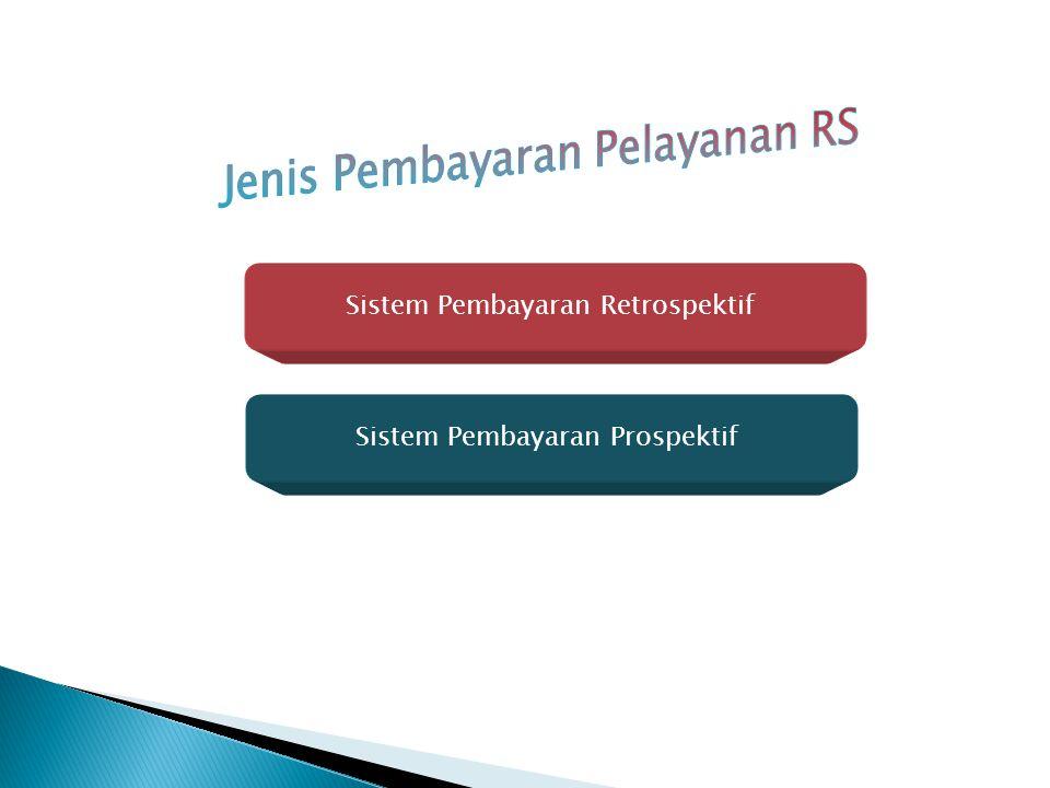 Sistem Pembayaran Retrospektif Sistem Pembayaran Prospektif