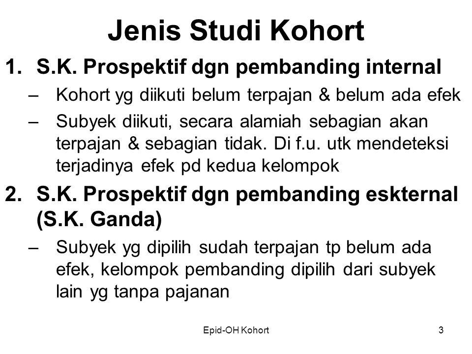Epid-OH Kohort3 Jenis Studi Kohort 1.S.K.