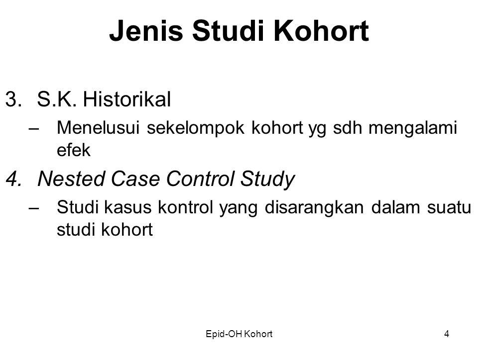 Epid-OH Kohort4 Jenis Studi Kohort 3.S.K.