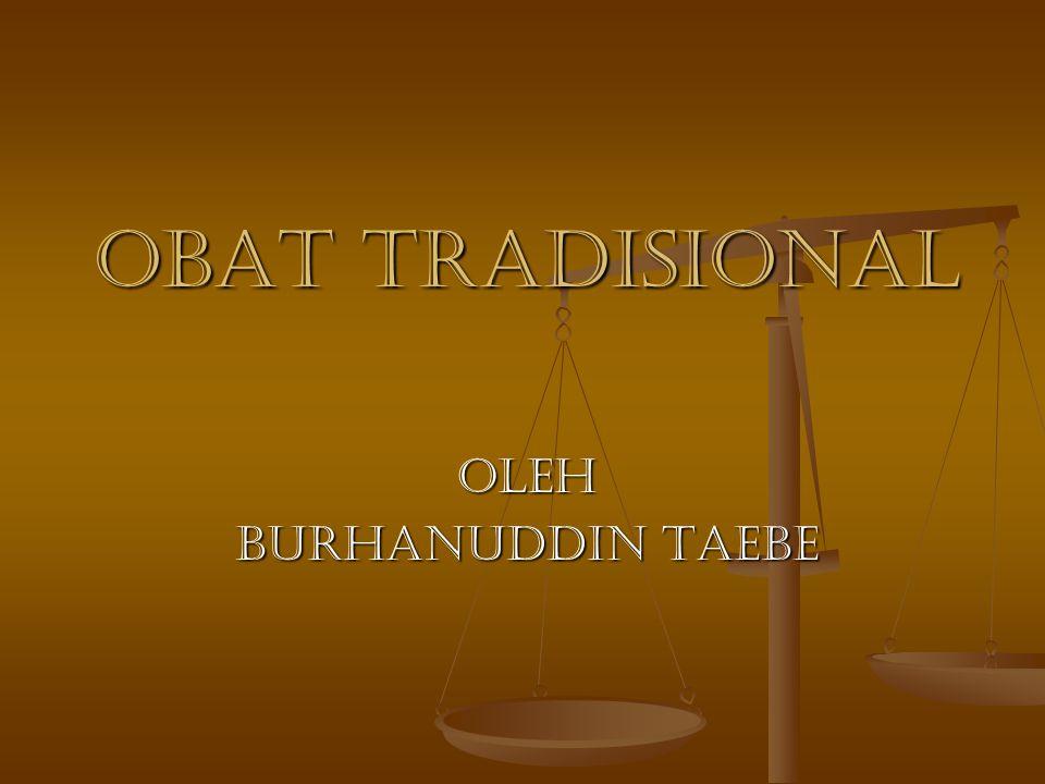 RUANG LINGKUP 1.BAHAN BAKU OBAT TRADISIONAL 1. BAHAN BAKU OBAT TRADISIONAL 2.