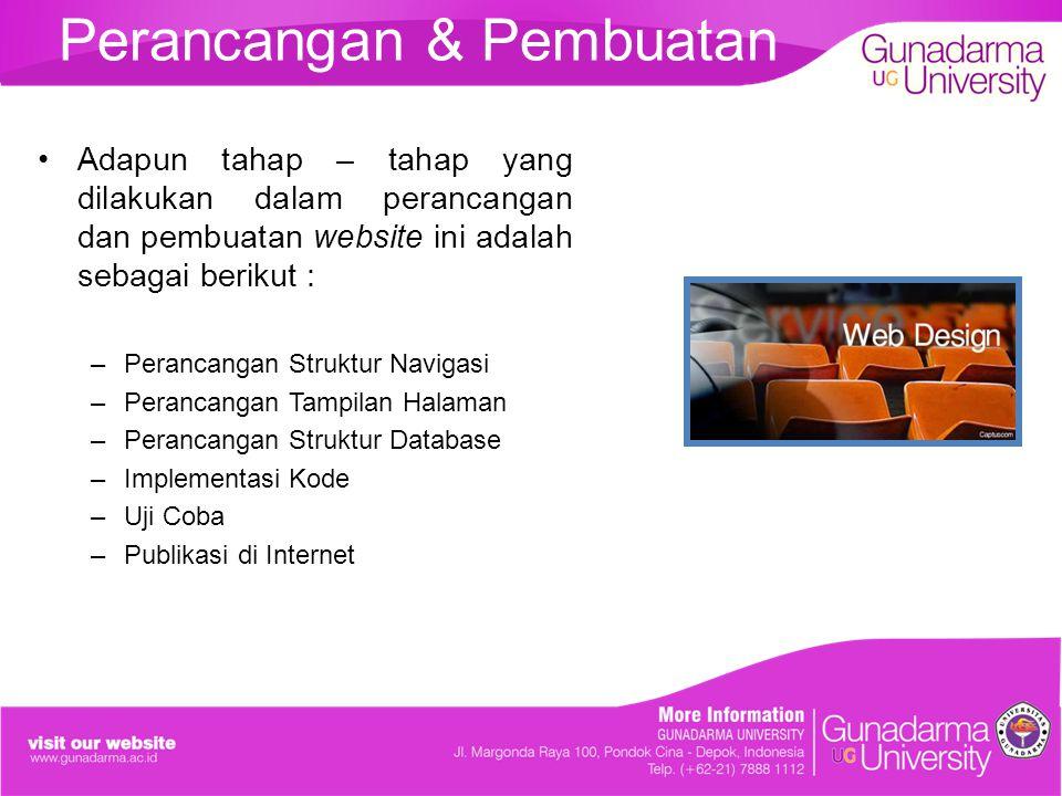 Struktur Navigasi Campuran Website Resep Masakan Tradisional Indonesia