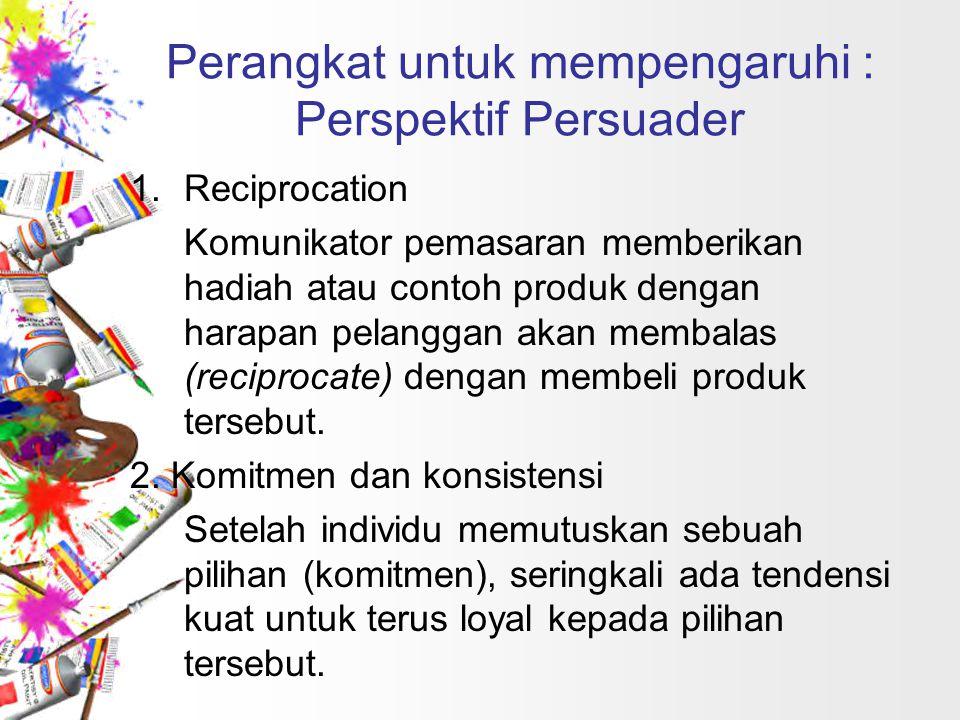 Perangkat untuk mempengaruhi : Perspektif Persuader 3.