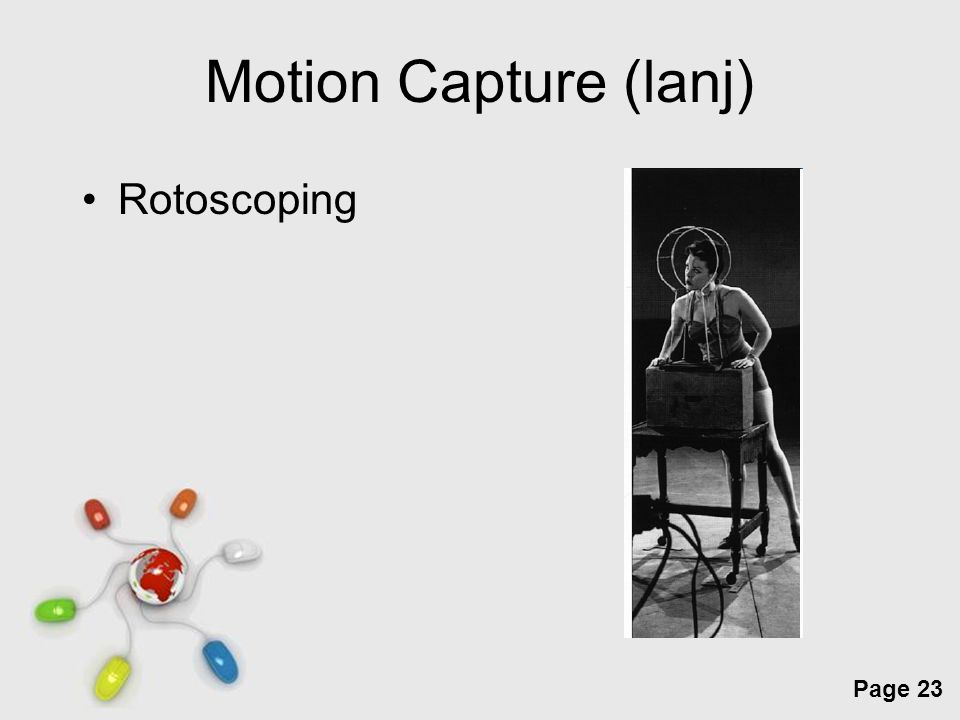 Free Powerpoint Templates Page 23 Motion Capture (lanj) Rotoscoping