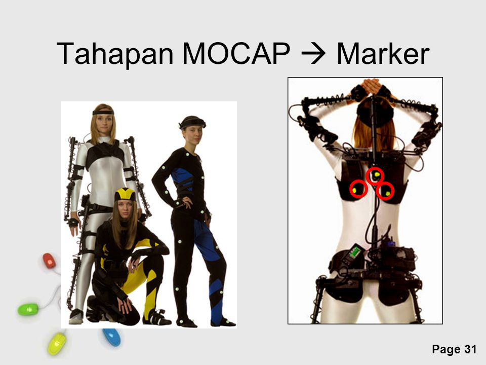 Free Powerpoint Templates Page 31 Tahapan MOCAP  Marker
