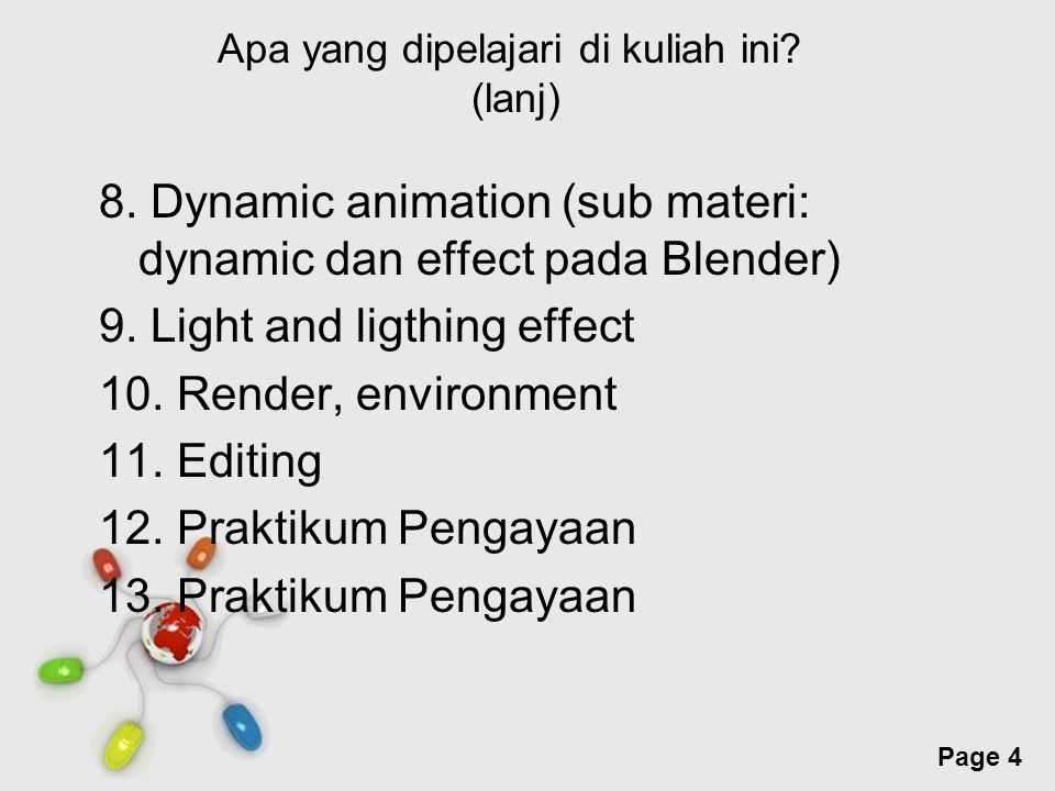 Free Powerpoint Templates Page 25 Motion Capture (lanj) Rotoscoping  Post Processing