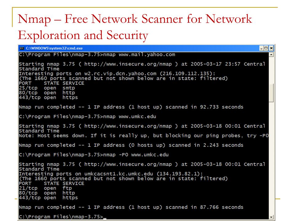 Nmap – Free Network Scanner for Network Exploration and Security