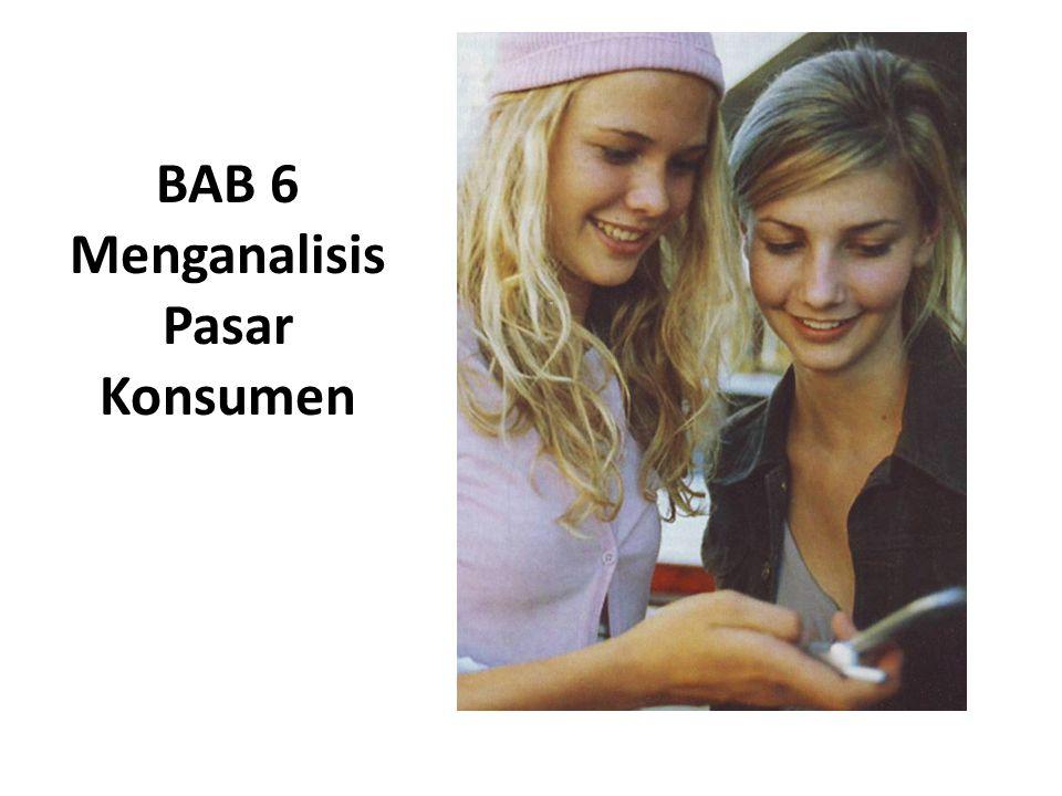 Pertanyaan yang akan dijawab : 1.Bagaimana karakteristik konsumen mempengaruhi perilaku membeli.