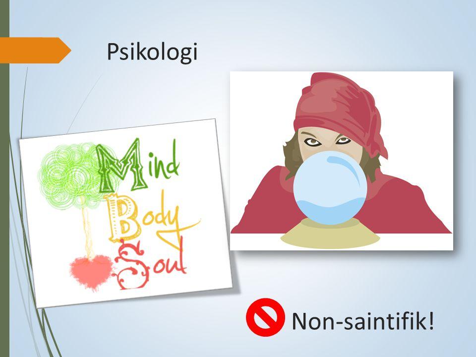 Psikologi Non-saintifik!
