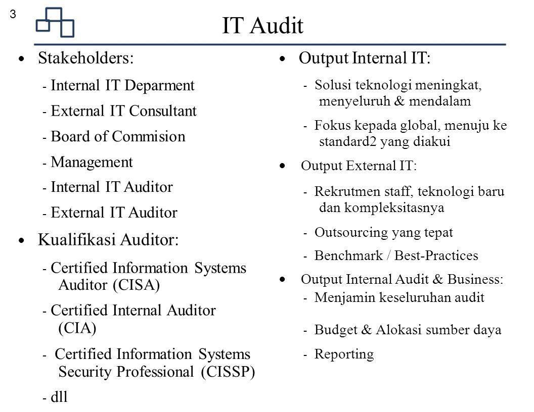 4 Metodologi & Framework ● Framework Besar: ● Metodologi IT Audit: 1.