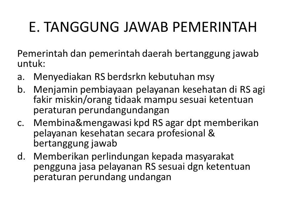UNDANG-UNDANG RUMAH SAKIT Oleh: Suryanto, SKM, MSc.