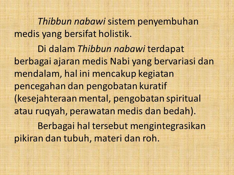 1.2 Rumusan Masalah Bagaimana upaya kuratif dalam kacamata Islam.