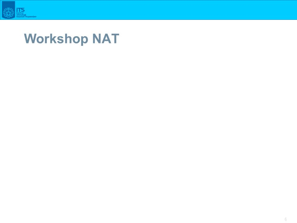 6 Workshop NAT
