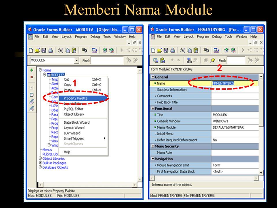 Memberi Nama Module 1 2