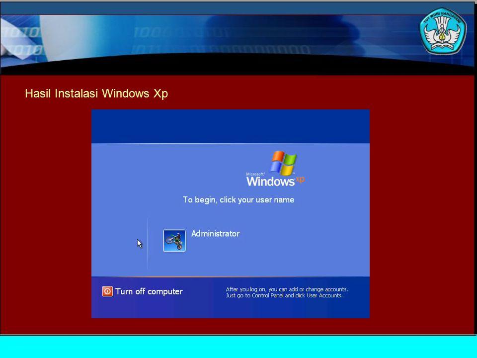 TUJUAN Siswa dapat mengecek hasil instalasi menggunakan software POKOK BAHASAN Mengecek hasil instalasi menggunakan software Module 7 To install the o