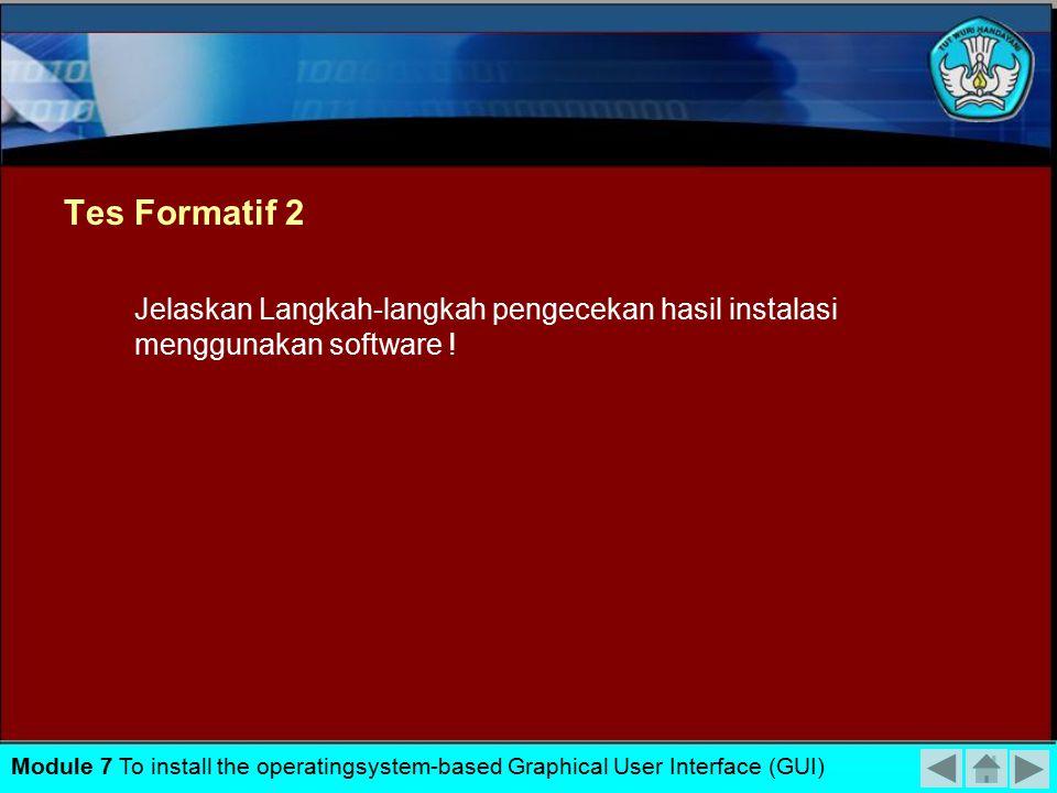 Hasil Instalasi Windows Xp