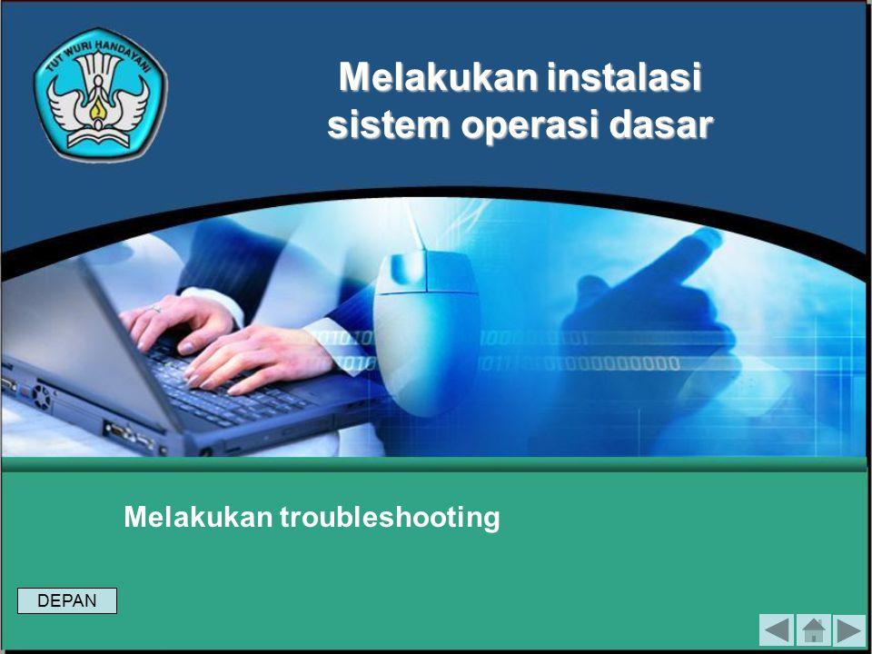 Tes Formatif 2 Jelaskan Langkah-langkah pengecekan hasil instalasi menggunakan software ! Module 7 To install the operatingsystem-based Graphical User