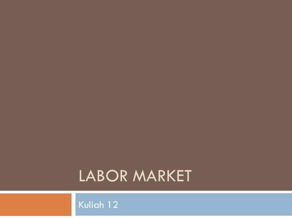 THE LABOR MARKET..1  When firms respond to an increase in demand by stepping up production : Higher production requires an increase in employment Higher employment leads to lower unemployment Lower unemployment puts pressure on wages