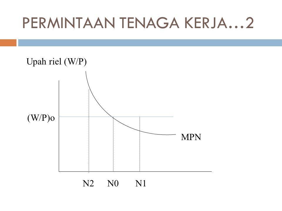 PERMINTAAN TENAGA KERJA…2 Upah riel (W/P) (W/P)o N0N1N2 MPN