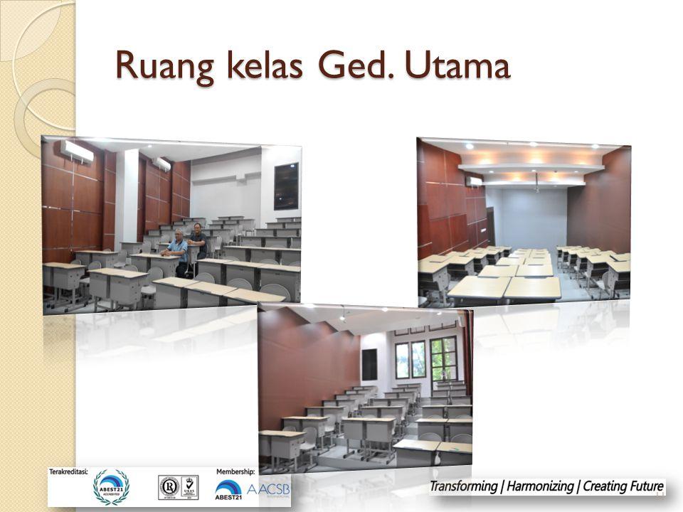 Ruang kelas Ged. Utama 11