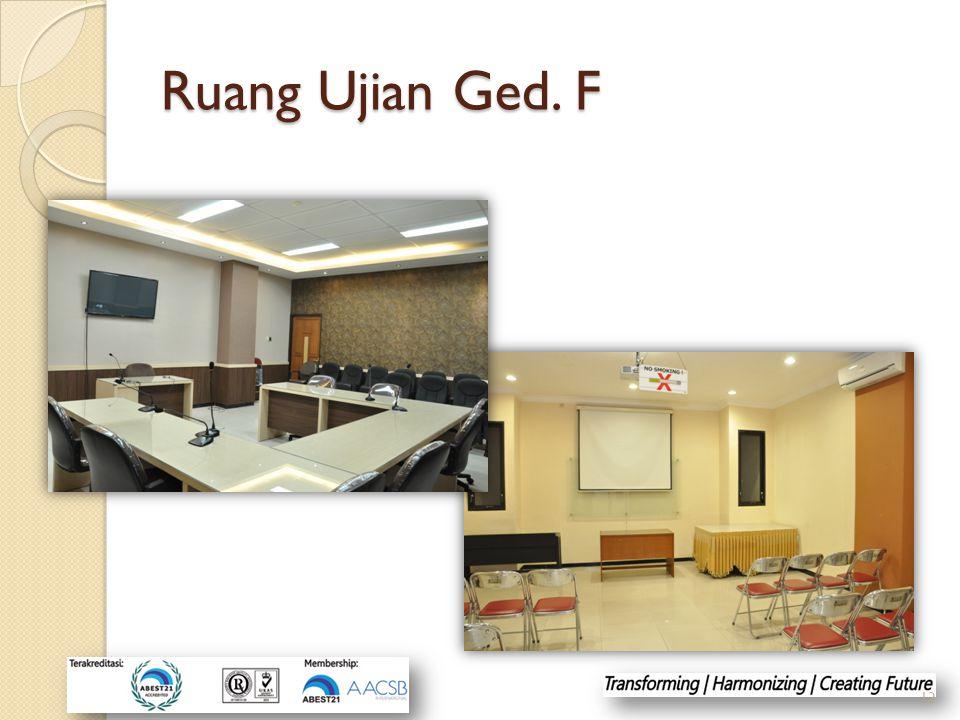 Ruang Ujian Ged. F 12