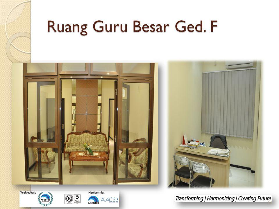 Ruang Guru Besar Ged. F 13